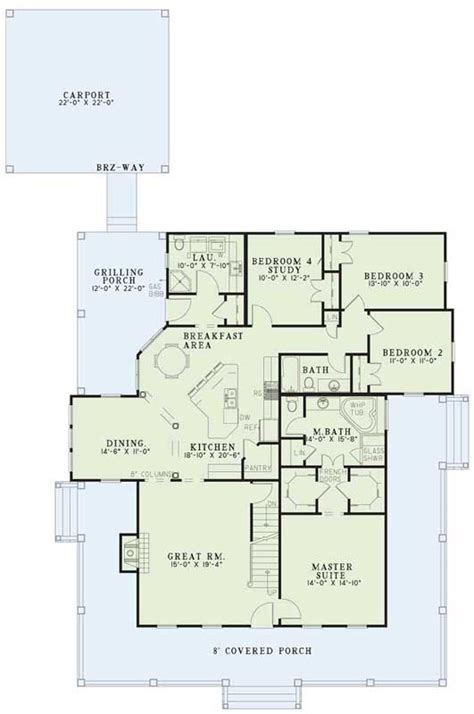 www monsterhouseplans com country style house plans 2039 square foot home 1
