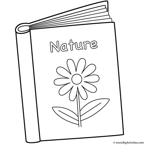 coloring books nature book coloring page back to school