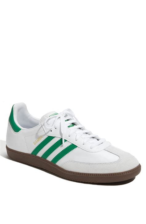 addidas sneakers adidas samba sneaker green in green for lyst