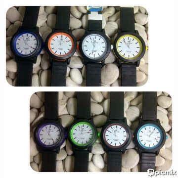 Jam Tangan New Time ginda collection jam tangan new time karet water resistant