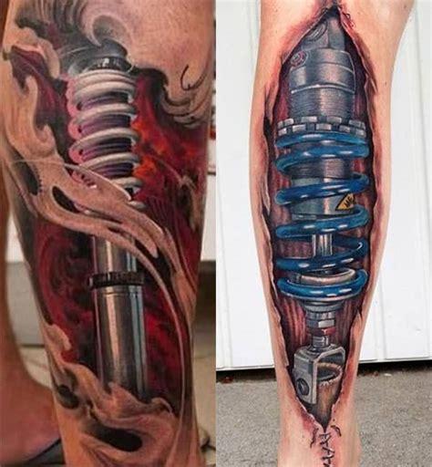 tattoo 3d en la pierna tatuajes biomec 225 nicos con increibles efectos 3d mujeres y