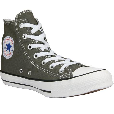 Converse Chucks Grau by Converse All Chucks Hi Hip Top Sneaker Grau Braun