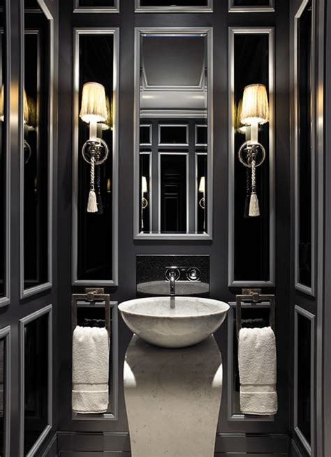 black and white bathroom decor ideas 19 almost pure black bathroom design ideas digsdigs