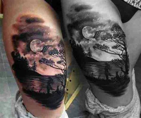 night sky tattoo designs group 73