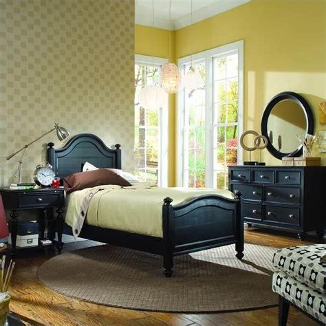 american drew camden panel bed 3 piece bedroom set in american drew camden black panel bedroom set with 2