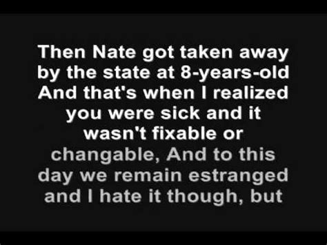 eminem headlights lyrics eminem headlights ft nate ruess lyrics 2013 full youtube
