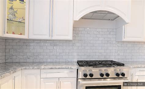 Carrara Marble Subway Tile Kitchen Backsplash | white carrara subway backsplash tile backsplash com