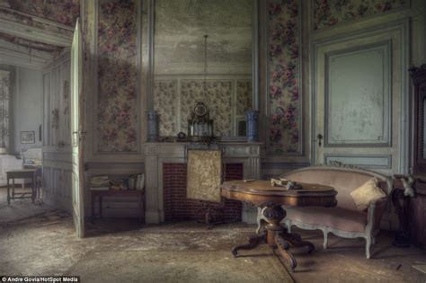 Inside the abandoned Belgian mansion brimming with expensive furniture Daily Mail Online