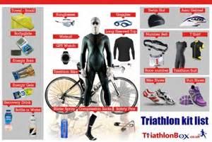 Triathlon Store Triathlon Check List Triathlonbox