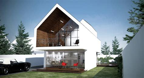 When Building A House nowoczesny dom projekt nowoczesnego domu rubicon