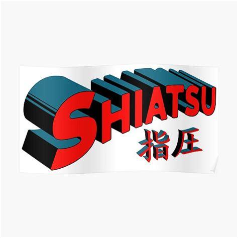 shiatsu posters redbubble