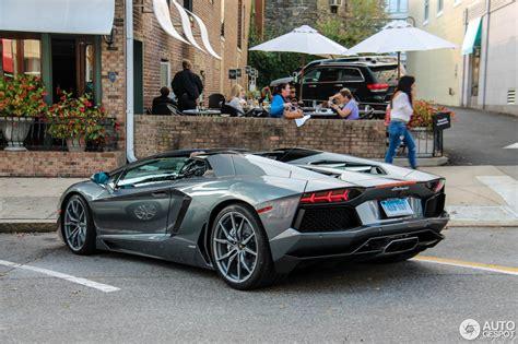Lamborghini Aventador Roadster Lamborghini Aventador Lp700 4 Roadster 23 November 2016