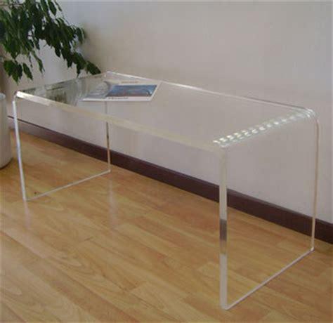 scrivania plexiglass tecnica prezzi scrivanie in plexiglass