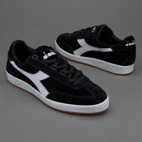 Original Diadora Dante Black Grey mens shoes diadora b original black white shoes 127241 cheap shoes www balerdipension