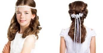 frisuren lange haare geflochten frisuren madchen kommunion lange haare geflochten kopfschmuck mit anleitung selber machen bilder
