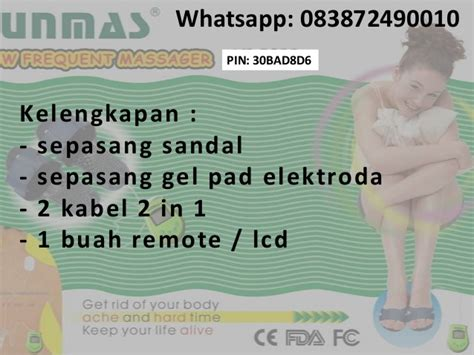Alat Pijat Kaki Elektronik tens portable foot massager alat pijat kaki elektronik