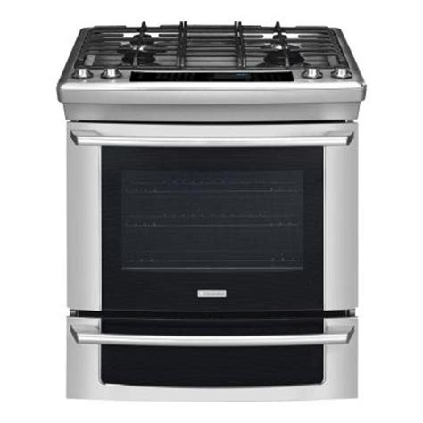 electrolux iq touch 4 2 cu ft slide in gas range