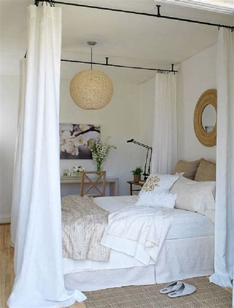 faux canopy bed drape faux canopy bed home pinterest