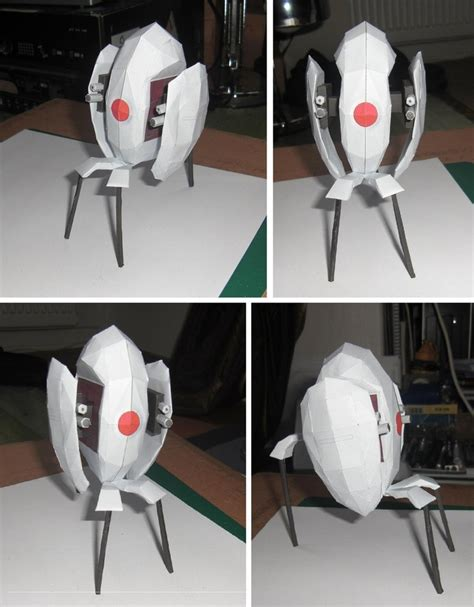 Portal Turret Papercraft - pin by walter boswell on geeky goodness