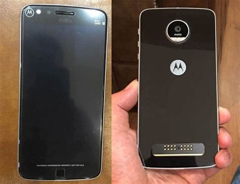 Moto Z Play Moto Z Play With Moto Mods Support Surfaces In Live Images