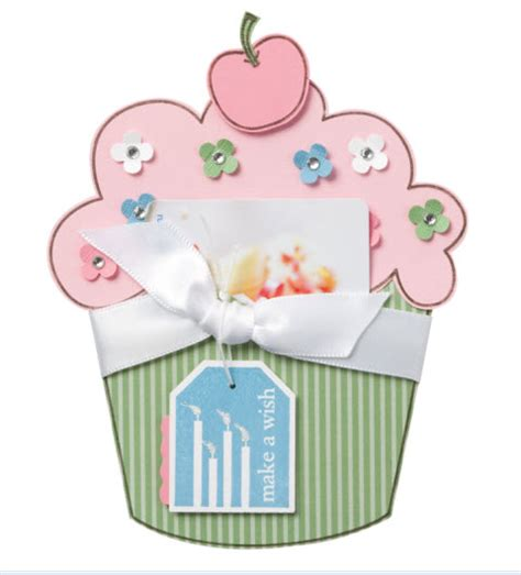 Cupcake Gift Card Holder - 187 cupcake gift card holder