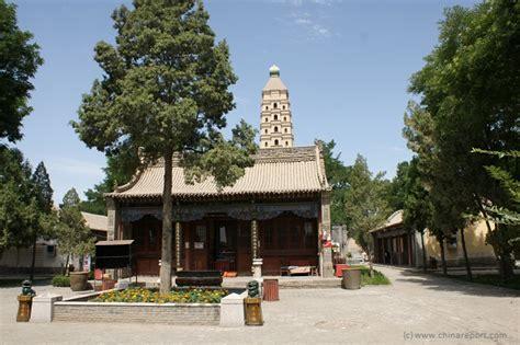 ta chuan the great 0312264283 yinchuan landmarks monuments hotspots sea treasure temple pagoda haibao ta 3 front court