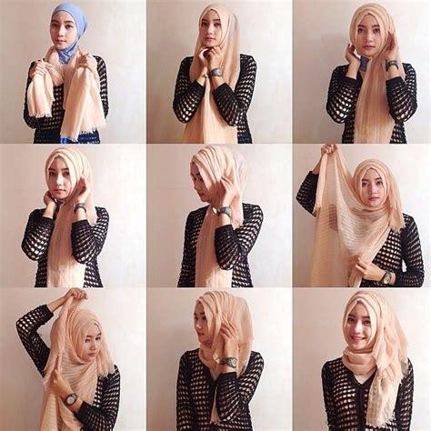 tutorial hijab berkacamata terbaru cara berhijab segi empat yang mudah dan simple cantik