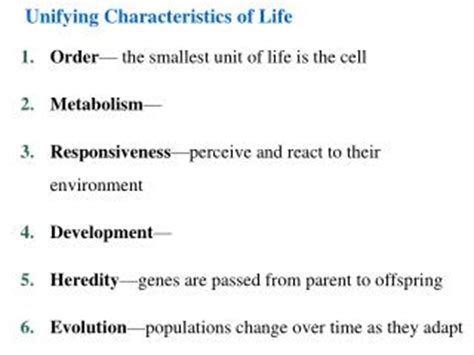 characteristics of biography ppt ppt the 8 characteristics of life powerpoint