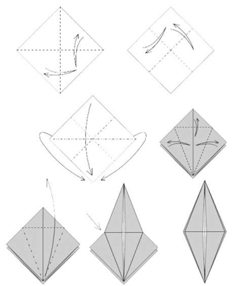 base de l oiseau origami
