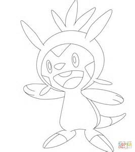 pokemon coloring pages chespin chespin coloring page free printable coloring pages