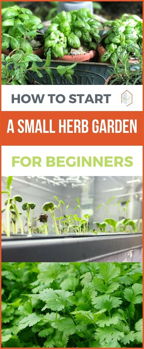 Herb Gardening For Beginners by Best 25 Small Herb Gardens Ideas On