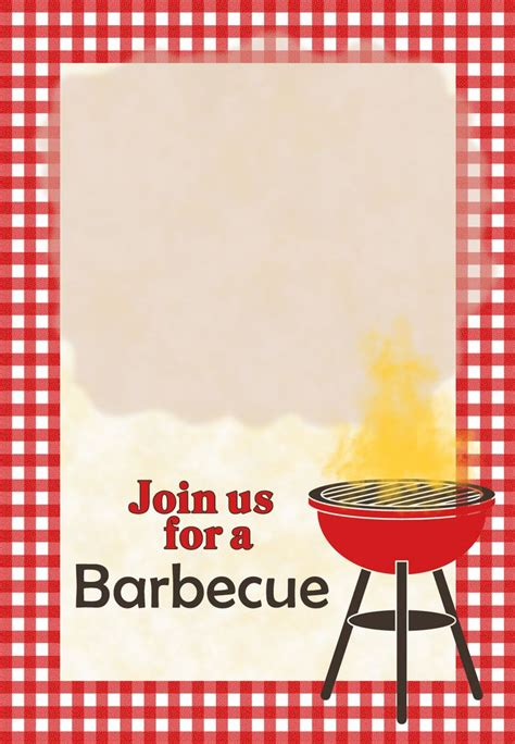 bbq invitation template templates data