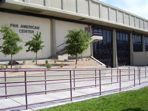 general information pan american center special events