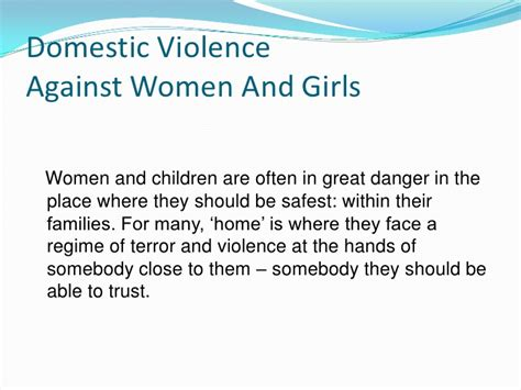 Essay About Violence Against by Essay About Violence Against