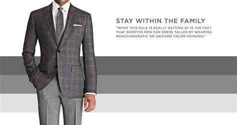 what to look for in suits for short men