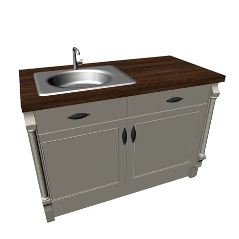 Kitchen Sink With Cabinet Base Cabinet With Sink Design And Decorate Your Room In 3d