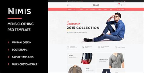 online shopping templates for asp net nimis ecommerce online shop psd template by wpmines