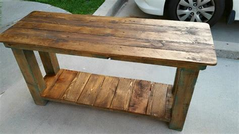 end tables made from pallets pallet console table end table sofa table 99 pallets