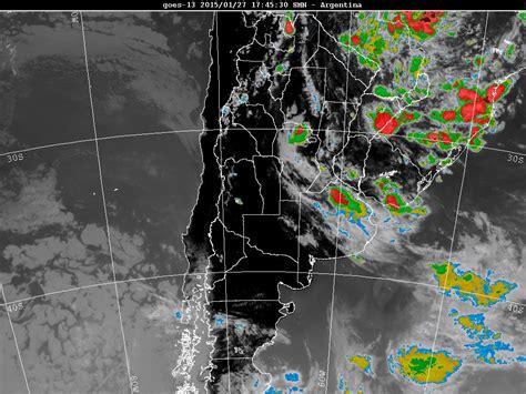 imagenes satelitales tormentas argentina posibles tormentas fuertes para san luis