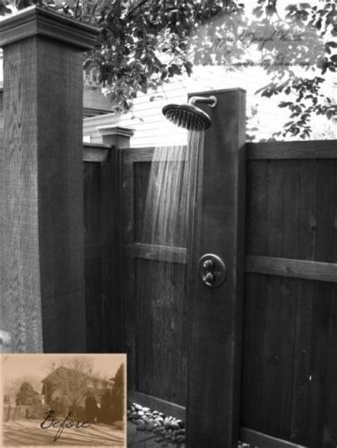 simple outdoor shower discover and save creative ideas