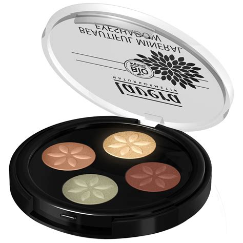 Lavera Beautiful Mineral Eyeshadow lavera beautiful mineral eyeshadow quattro cuprum glam