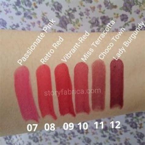 Lipstick Crayon Wardah wardah matte lipstick in one click