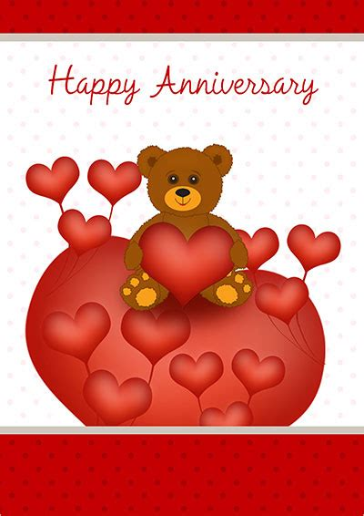 Make Your Own Free Printable Anniversary Cards