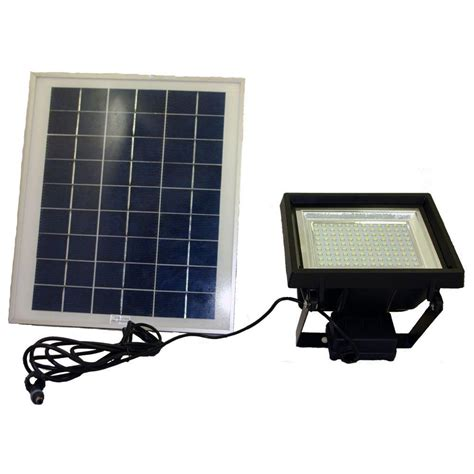 Solar Panels For Outdoor Lighting Solar Goes Green Solar Bright Black 108 Led Outdoor Flood Light With Timer Sgg F108 3t