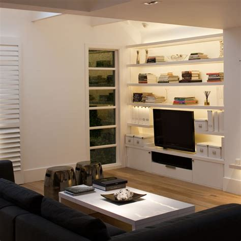 Storage In Living Room by Living Room With Built In Storage Housetohome Co Uk