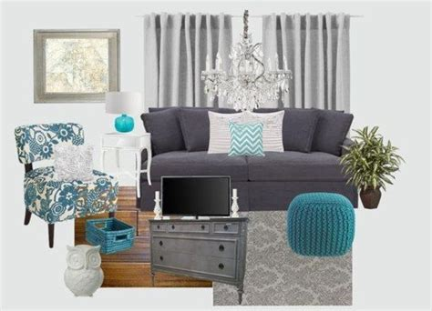 Grey And Teal Sofa Turquoise Living Rooms Living Rooms And Teal Living Rooms On
