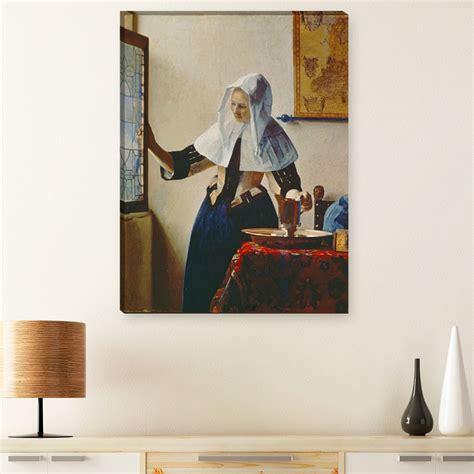 Jung Anti Rutsch Aufkleber by Jan Vermeer Junge Frau Mit Wasserkrug Am Fenster