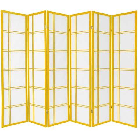 room dividers furniture 70 quot x 84 quot cross shoji 6 panel room divider reviews wayfair