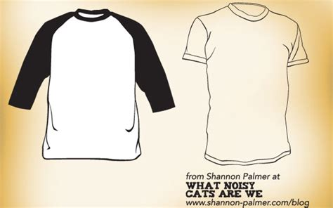 Raglan And Short Sleeve T Shirt Template Designs Free Download T Shirt Template Free Sleeve Shirt Template