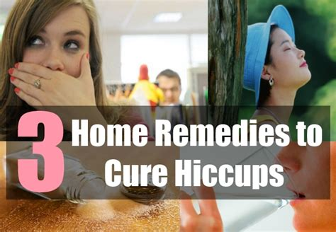 Home Remedies For Hiccups by 3 Home Remedies To Cure Hiccups Home Remedies